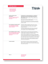 RECAL how it works brochure