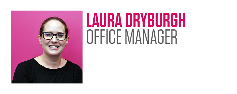 Laura Dryburgh, Think Research, Office Manager