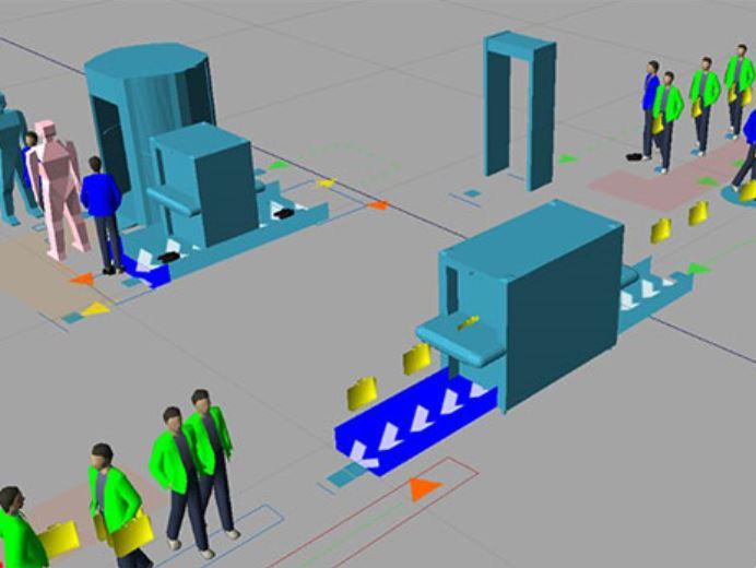 Simulation using arcport