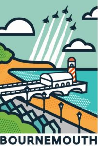 Think Research- Bournemouth Postcard Design