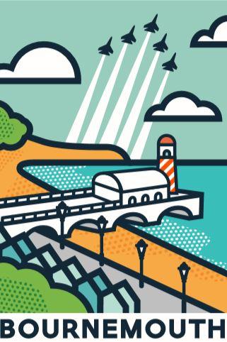 Bournemouth Illustration