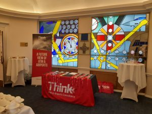 Reception area of the Think Seminar