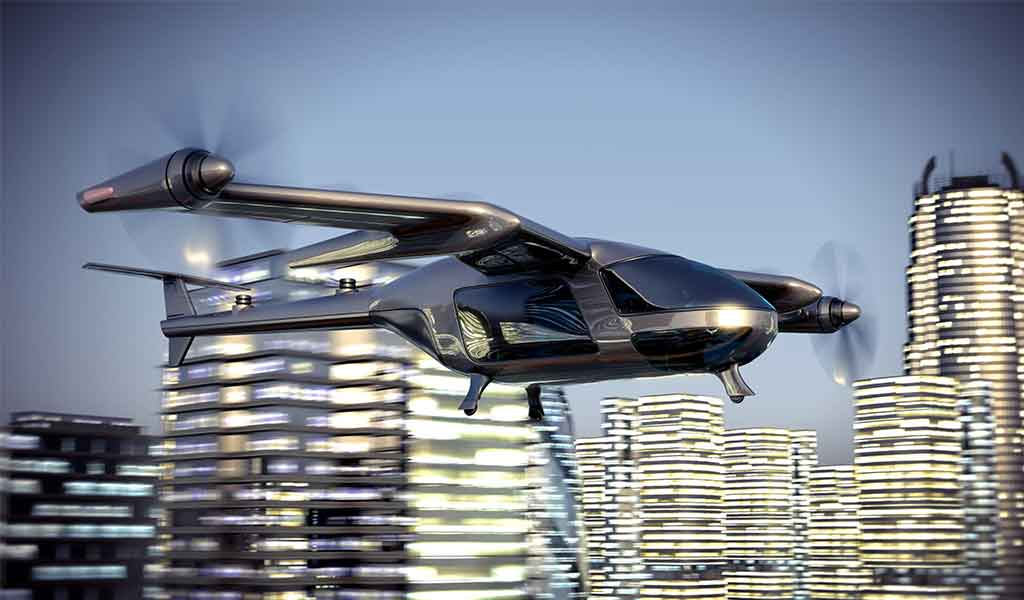 Urban Air Mobility.  The cities of the future?