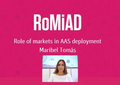 Role of markets in AAS deployment