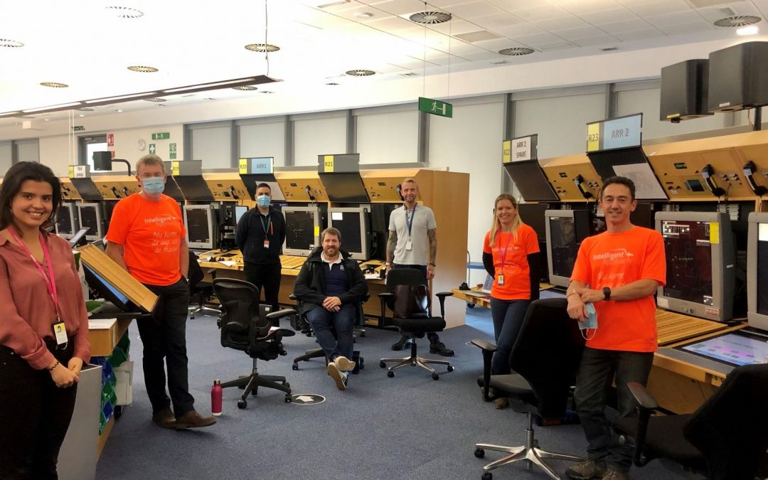 Think conclude set of IA Development Simulations for Schiphol