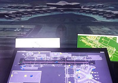 Think lead high-fidelity tower simulation for Abu Dhabi's new Terminal Building