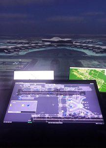 ADAC's advanced 360 degree aerodrome simulator