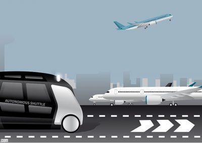 Autonomous Vehicles In Airports