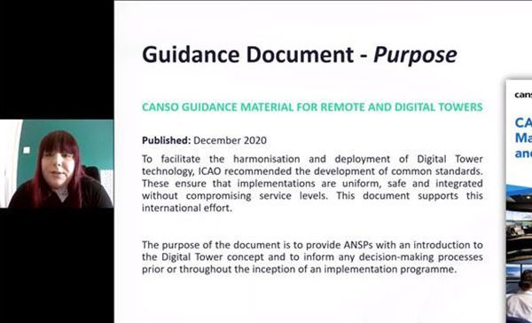 Think Continue To Support CANSO Smart Digital Tower Task Force